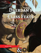 Daerdan's Class Feats (Fantasy Grounds)