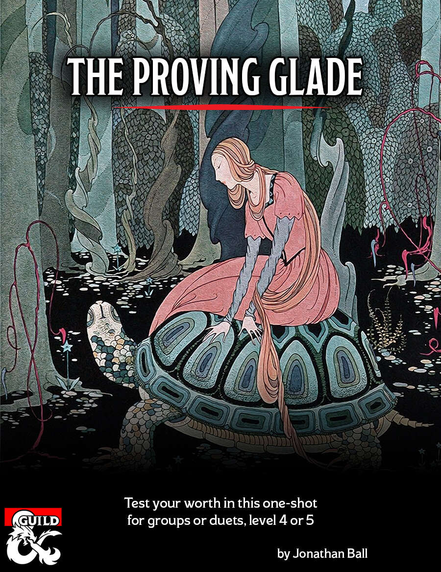 Cover of The Proving Glade
