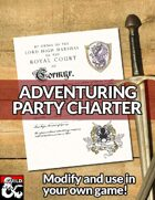 Adventuring Party Charter
