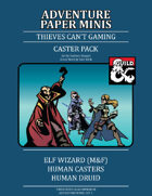 Adventure Minis: Casters Pack I