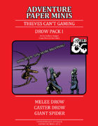 Adventure Minis: Drow Pack I
