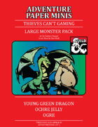 Adventure Minis: Large Monsters Pack I