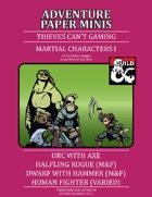 Adventure Minis: Martial Pack I