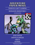 Adventure Minis: Dungeon Monsters Pack I