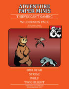 Adventure Minis: Wilderness Pack I