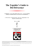 The Topsider's Guide to Dol Delvarmyr