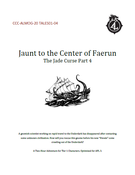 CCC-ALMOG-20 TALES01-04 Jaunt to the Center of Faerûn cover art