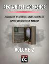 RPG Writer Workshop Vol. 2 [BUNDLE]