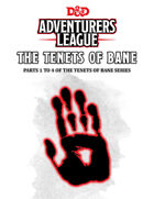 The Tenets of Bane 1-4 [BUNDLE]