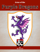 Arms of the Purple Dragons
