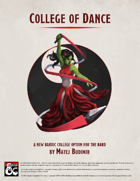 College of Dance
