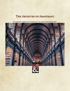 The Archives of Arastranu