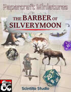 """Barber of Silverymoon"" Printable Miniatures"
