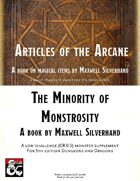 Minority of Monstrosity an Article of the Arcane Bundle [BUNDLE]