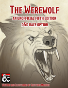 The Werewolf- A Race option