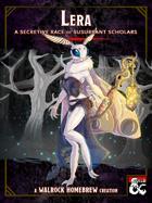 {WH} Lera! A moth-like character race of susurrant scholars