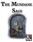 The Mundane Sage Class