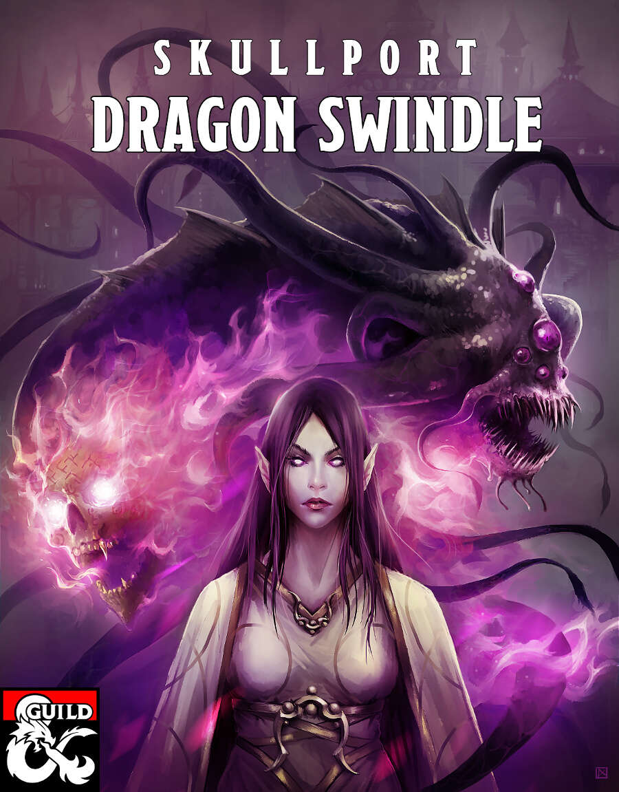 Skullport Dragon Swindle cover