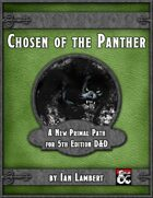 Chosen of the Panther: A Primal Path