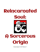 Reincarnated Soul: A Sorcerous Origin