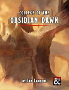 College of the Obsidian Dawn