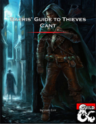 Baeris' Guide to Thieves Cant: Remastered