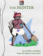 The Painter (Artificer Subclass)