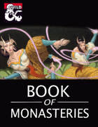 Book of Monasteries (5e Monk Subclasses)