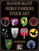 Ravens Bluff Nobles Heraldry Stock Art
