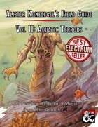 Alister Konezegel's Field Guide Volume II: Aquatic Terrors