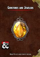 Gemstones and Jewelers