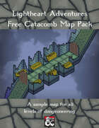 Free Sample Map Pack: Catacombs