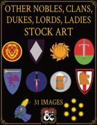 Other Faerun Nobles Heraldry Stock Art