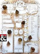 Boneyard Character Sheets Set