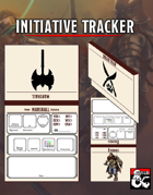 Initiative Tracker Datasheets
