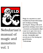 Nebularian's Manual of magic and monsters