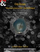 Orp Runes 2020