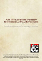 Plot-Hook and Points of Interest Encounters in an Urban Environment