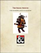 The Sekiro Shinobi