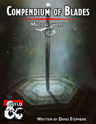 Compendium of Blades: Magical Swords