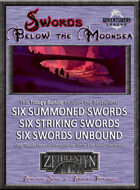 Swords Below the Moonsea Trilogy (ZETH-B1) [BUNDLE]