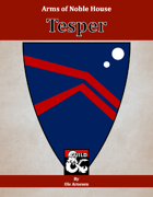 Arms of House Tesper
