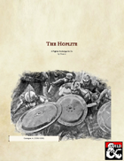 The Hoplite- A Fighter Archetype for 5e (PDF ONLY)