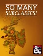So Many Subclasses! [BUNDLE]