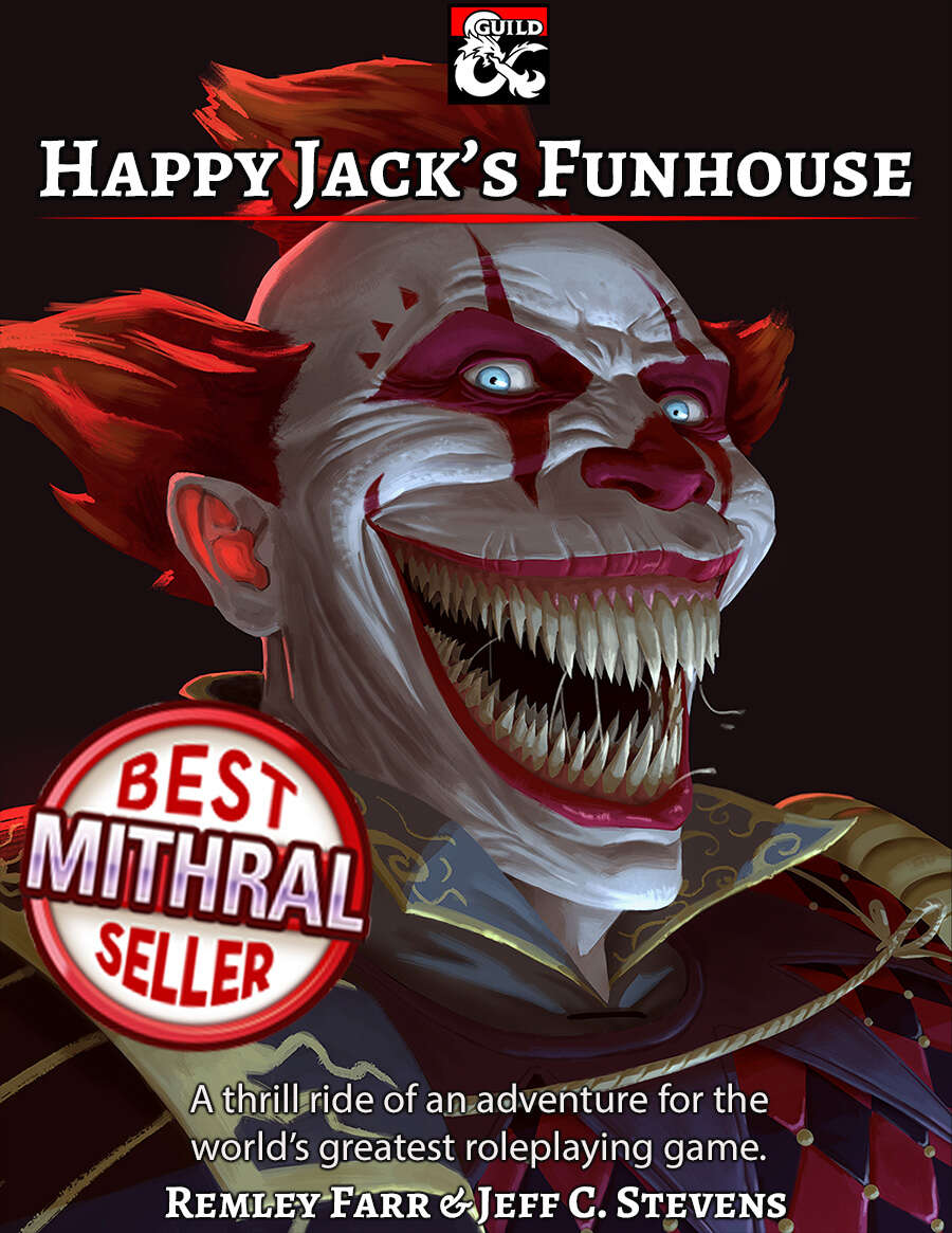 Cover of Happy Jack's Funhouse
