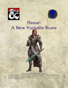 Honor - A New Measure