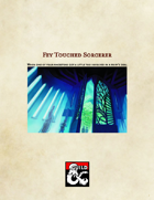 Fey Touched Sorcerer Origin