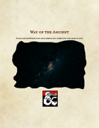 Way of the Ancient