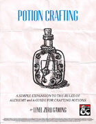 Potion Crafting - Simple Rules for Aspiring Alchemists