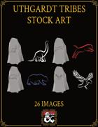 Uthgardt Tribal Totems Stock Art